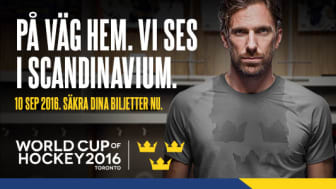 På fredag släpps biljetterna till Tre Kronor - Finland i Scandinavium inför World Cup of Hockey 2016