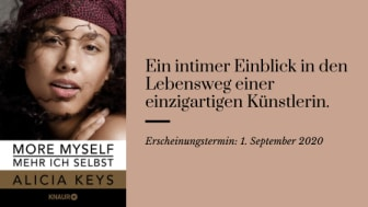"""More myself - Mehr ich selbst"" ab 1. September 2020 bei Knaur"