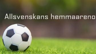 Datscha listar Allsvenskans hemmaarenor