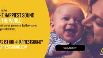 Cochlear  #HappiestSound - Mitmachen und persönliches Lieblingsgeräusch verschicken