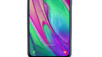 Galaxy A40_blue_front