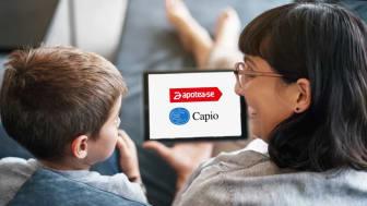Apotea inleder samarbete med Capio
