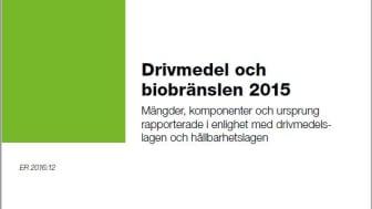 Energimyndigheten släpper från och med i år en rapport som sammanställer klimatpåverkan hos de drivmedel som säljs i Sverige. Bild: Energimyndigheten