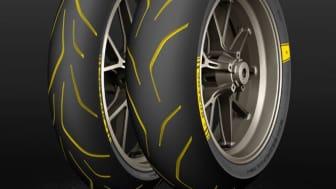 Ett år, fyra nya däck. Dunlop är ledande inom utveckling av hypersportdäck.