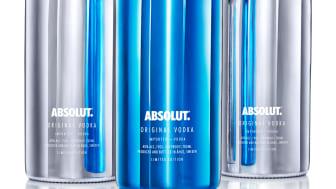 Absolut gjør natten elektrisk med lansering av ny flaske.