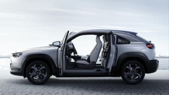 Mazda MX-30: Velkommen inn