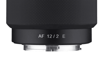 5_Samyang AF 12mm F2,0 E_No_Hood_Front