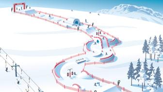 SkiStar fun ride