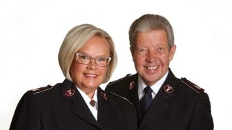 Kommendörerna Johnny och Eva Kleman