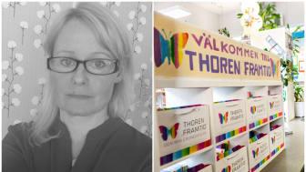 Lena Häggström kliver in som ny rektor på Thoren Framtid Vita Vidderna, Kiruna i augusti.