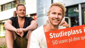 Spør oss: SiO inviterer studentene til å spørre om det de lurer på via Facebook 21. juli kl. 12-17.