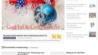 Webbplatsen lindekultur.se (c/o mynewsdesk.com) är en nyhets- och informationskanal för det mesta av det bästa med kulturen i Lindesberg: