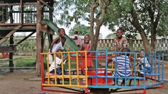 Barn i SOS barnby i Atakpamé, Togo