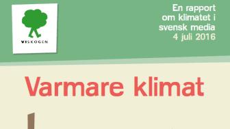 Vi-skogens rapport Varmare klimat - iskall nyhet?