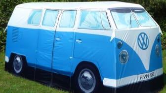 Volkswagen telt - Festivalens eller campingplassens råeste telt!