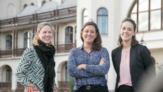 Anette Roos, Caroline Hazelius och Carina Norrbom Franchisetagare