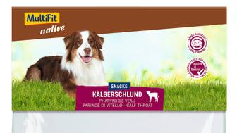 MultiFit native Snacks: Kälberschlund