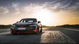 Eldrivna Audi RS e-tron GT prototype
