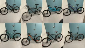 [Twenty bikes were recovered from the property in east London]