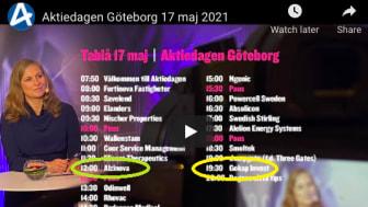 Alzinova och GOKAP Invest presenterar den 17 maj på Digitala Aktiedagen