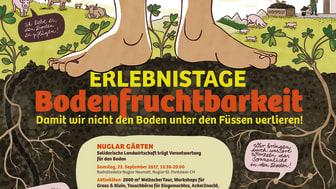 Plakat Erlebnistage Bodenfruchtbarkeit k