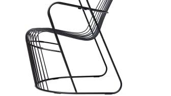Kaskad fåtölj, design Björn Dahlström