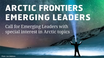 Funding opportunity - Are you an Emerging Leader in the Arctic?