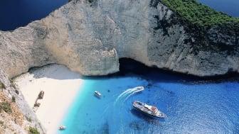 Fritidsresor ökar i Grekland 2016: Zakynthos nytt resmål i sommar