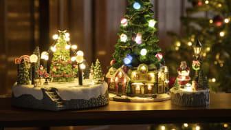Rusta lyser opp julen