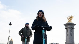 Sykler fra TIER finnes i flere europeiske byer som her i Berlin. Foto: Tier