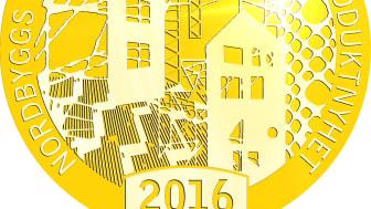 Dags att utse vinnaren av Nordbyggs guldmedalj 2016!
