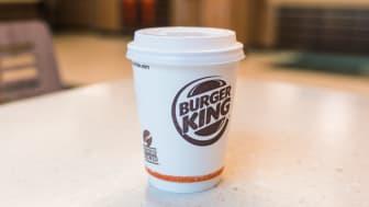 Kaffen på Burger King er økologisk og Fairtrade
