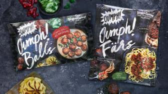 Oumph! tuo markkinoille uusia kasvispohjaisia tuotteita!