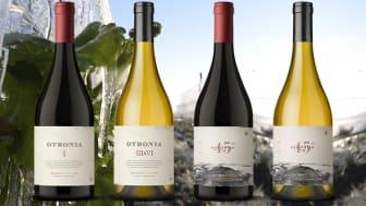Otronia Block 1 och Otronia Block 3&6 i BS samt Otronia Rugientes Pinot Noir och Corte de Blancas i exklusiv lansering