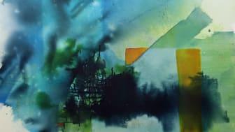 Alien in the window. Birgitta Glenmark