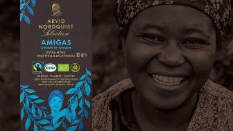 Börja den Internationella kvinnodagen med en kopp kaffe som är odlat på gårdar som drivs av Kvinnor