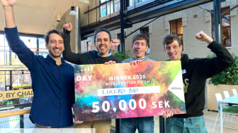 Lucero Bio is the winner of Chalmers Ventures Acceleration Pitch 2020