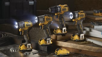 DEWALTs nye 12V XR verktøy er en unik serie med oppladbare maskiner som er små, kompakte og kraftfulle!