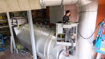 Das Heizkraftwerk Minden ist umfangreich modernisiert worden.