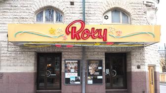 Bio Roxy stänger tillfälligt biografen för restaurering. Återinvigning i mitten av augusti!