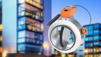 Lindab lanserer nytt sirkulært brannspjeld for raskere installasjon
