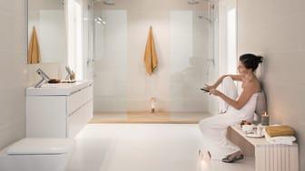 Kun kylpyhuone on suunniteltu viihtyisäksi ja käytännölliseksi, se voi jopa tarjota paikan rauhoittumiseen kiireen keskellä.