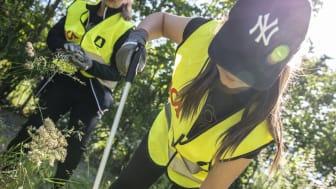 Klara, färdiga, städa! Nu startar städomgång två i Städa Sverige och ICA Stiftelsens nationella miljöprojekt.
