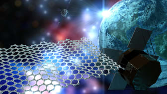 Graphene has huge potential for applications in space technology
