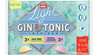 Müllerlight launches gin & tonic inspired yogurt