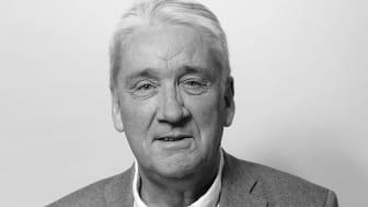 Lulebos styrelseordförande Kent Ögren medverkar under presskonferensen.
