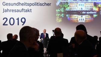 Rund fünfhundert Gäste folgten der Einladung der apoBank zu dem Gesundheitspolitischen Jahresauftakt ins Düsseldorfer Ständehaus.