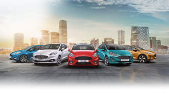 Ny Ford Fiesta fås i fem forskellige versioner - noget for enhver smag