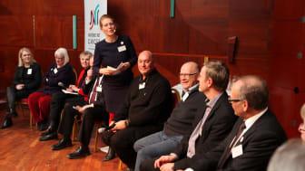 """Världscancerdagen 2011: Panelsamtal """"Cancervården i Sverige idag och i framtiden"""""""