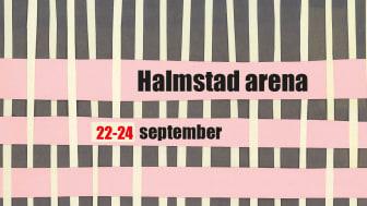 Den internationella vävmässan i Halmstad flyttas fram till 2022